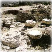 Ruinas de seis tinajas de piedra, Caná, Libano