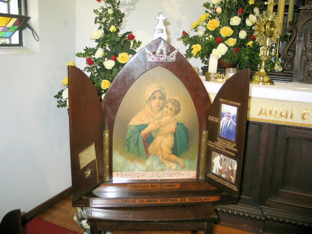 Original Pilgrim Mother in the Tabor Shrine, Santa Maria, Brazil