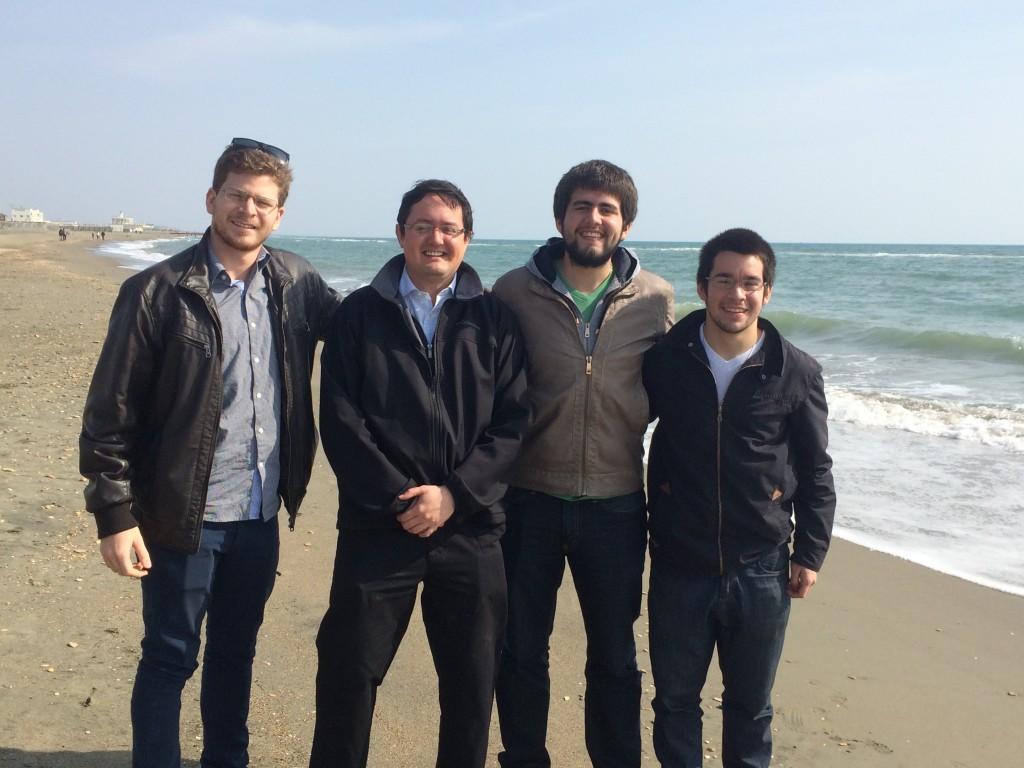 En el Mar de Ostia
