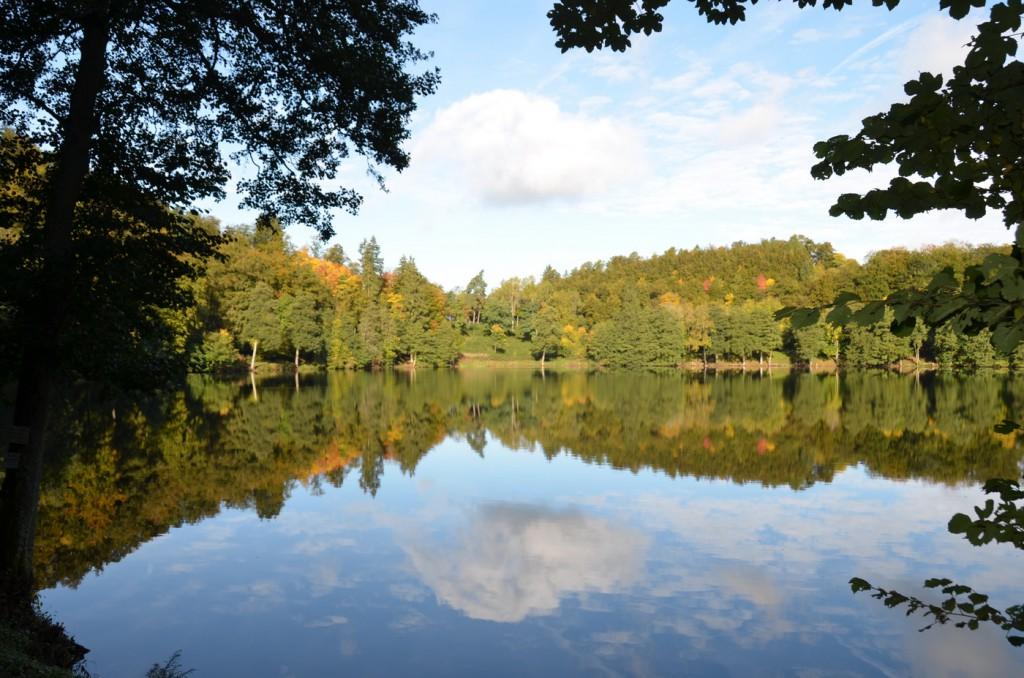 Herbststimmung am Gemünderer Maar in der Daun_Bildgröße ändern