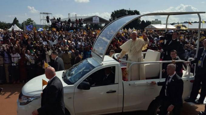 POPE-MOBILE-UGANDA