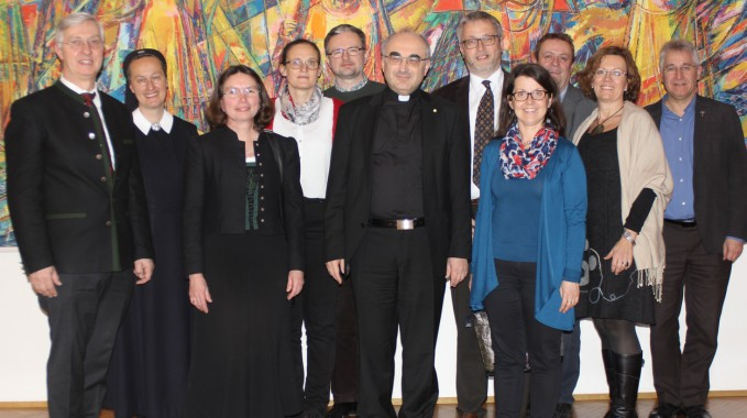 Bischof Gruppenfoto