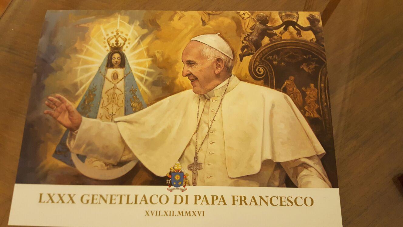 Geburtstag Papst Franziskus