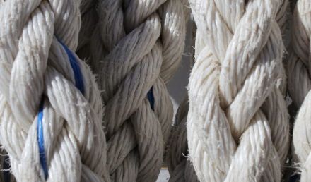 Thick Rope background lines curl
