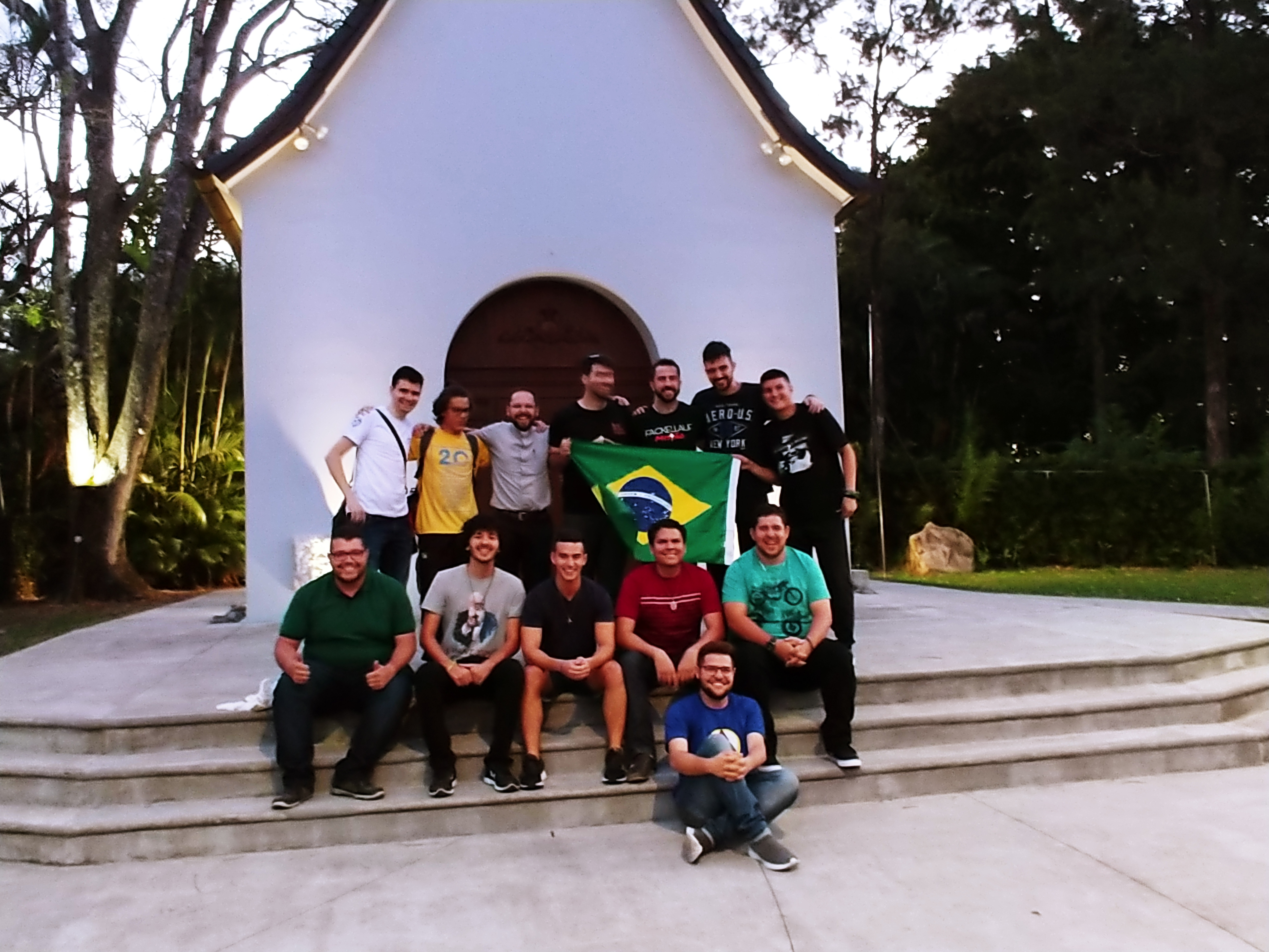 They have arrived! Costa Rica's shrine welcomes the future of the