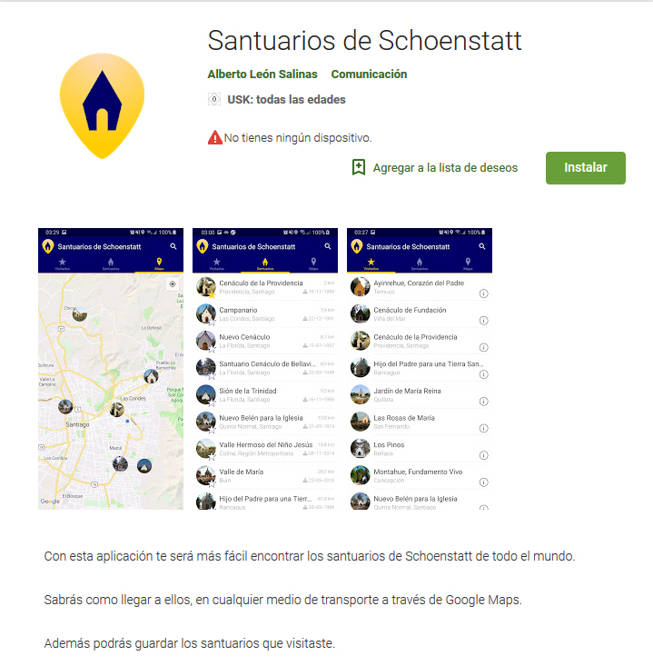 Heiligtums-App