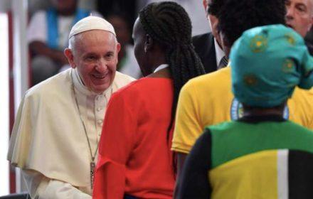 PapaFrancisco_EncuentroInterreligiosoJovenes02_Mozambique_050919_VaticanMedia