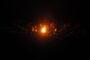 um ein Feuer sitzen, Lagerfeuer, Nachts, Dunkel, Lichtschein, Frieden