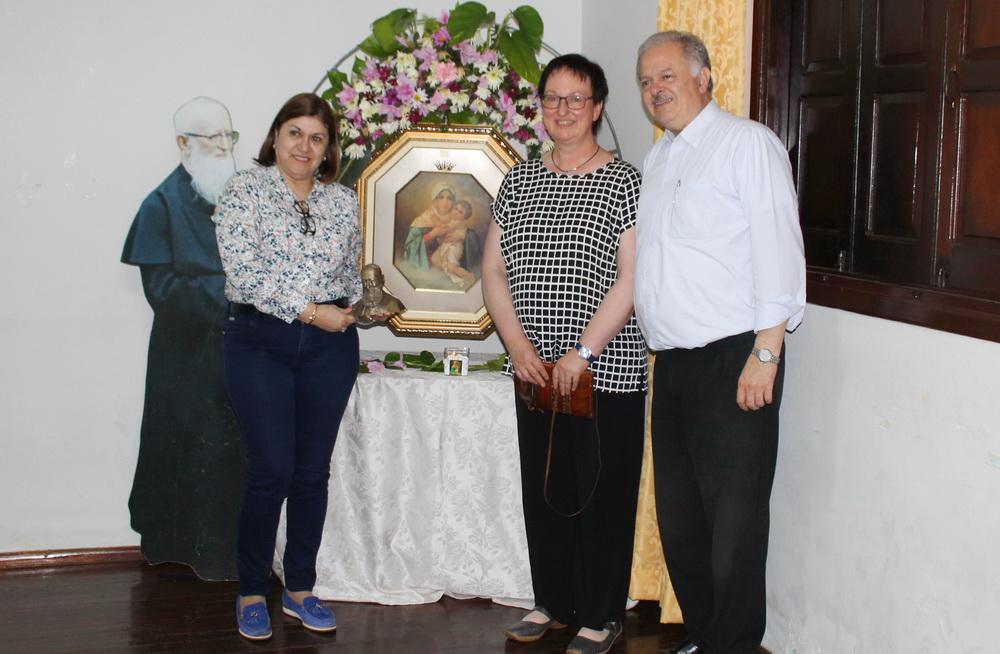 Sonia Zaracho, Maria Fischer, José Zaracho, 2018 en Encarnación