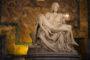 Michaelangelo's famous sculpture.