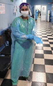 Hna Teresa, medico, Chile