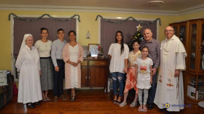 Australia Home Shrine blessing