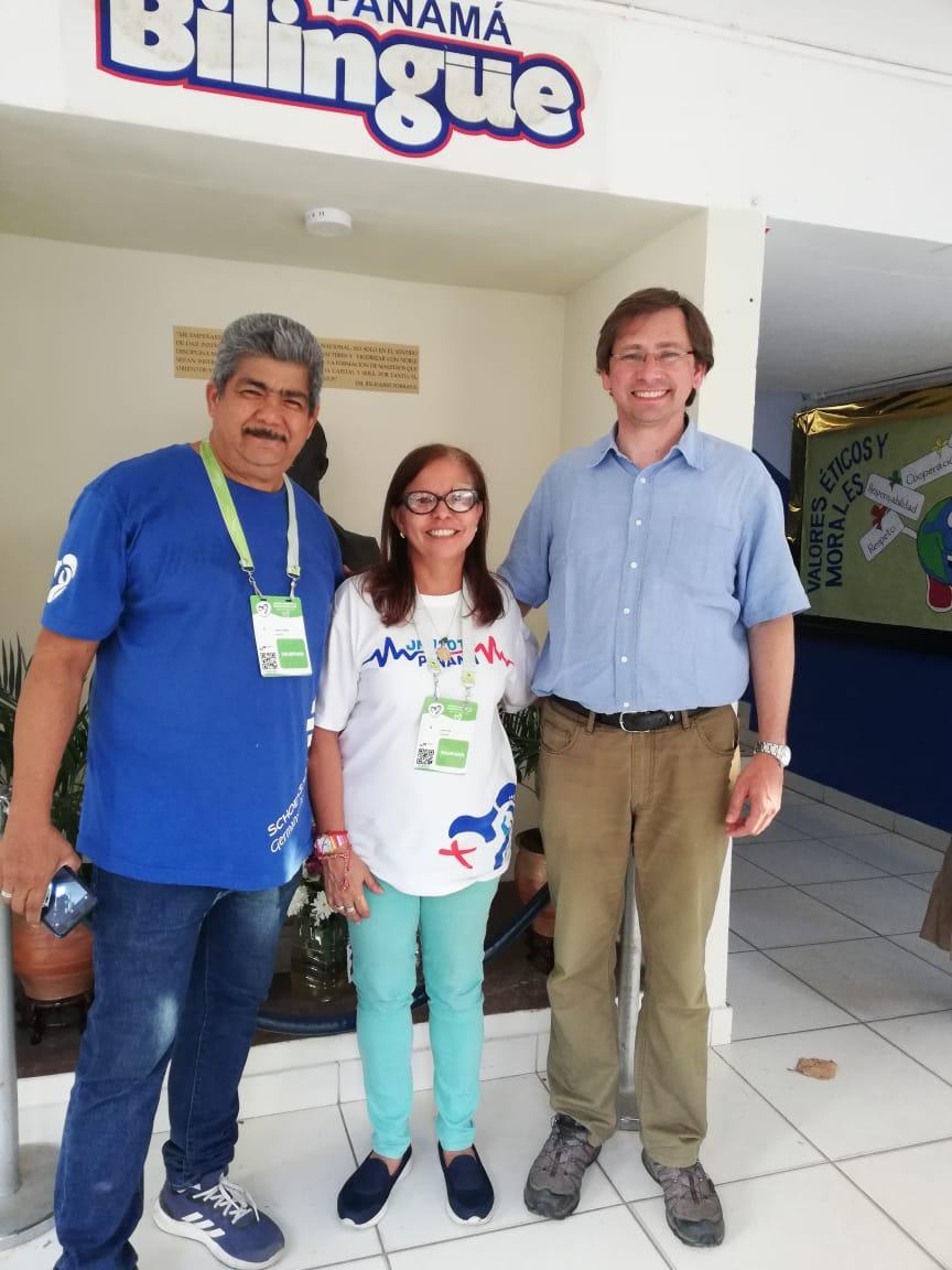 En enero de 2019, JMJ en Panamá