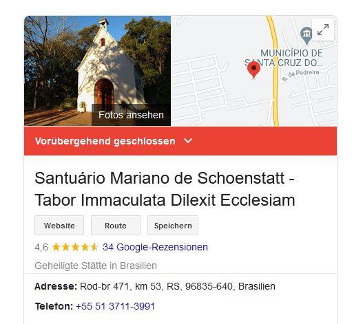"""No Google aparece: """"Temporariamente fechado"""""""