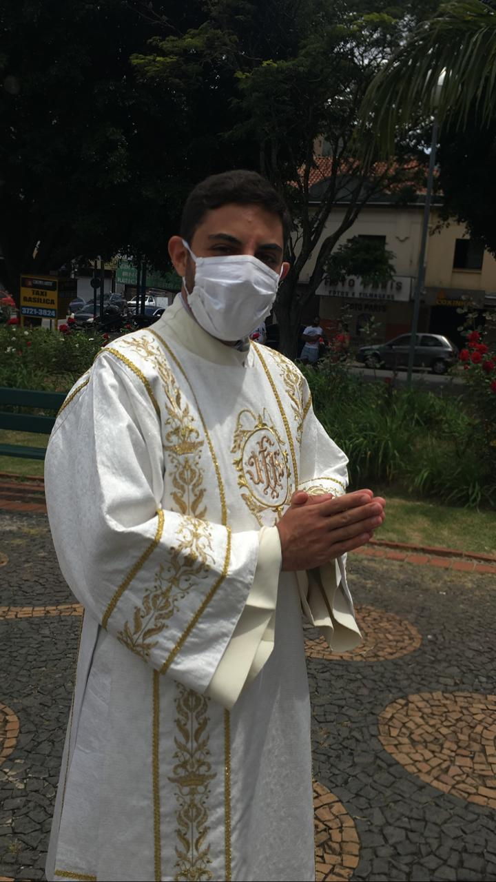 P. Rafael Mota, día de su ordenación sacerdotal, 24.01.2021
