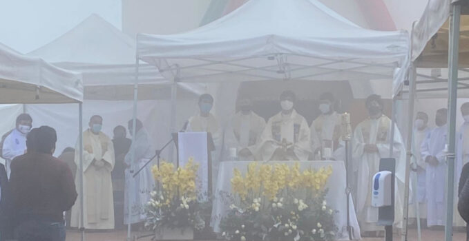 Monterrey primera misa