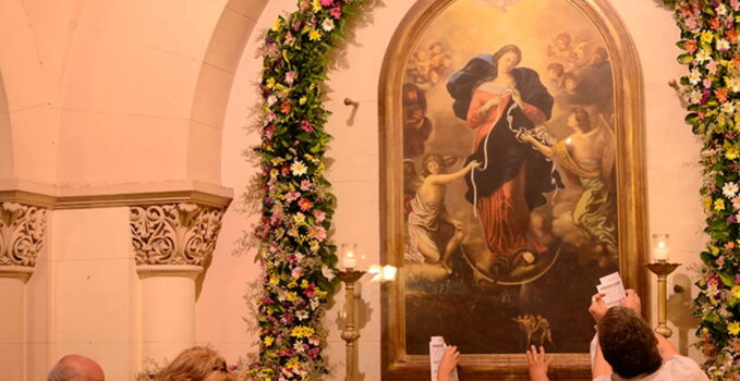 Gnadenbild Maria Knotenlöserin in Buenos Aires