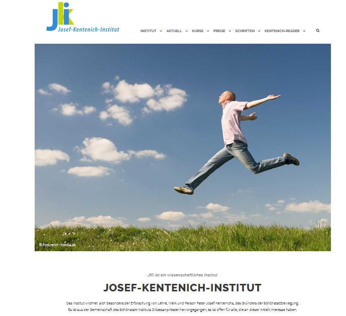 Screenshot Website JKI