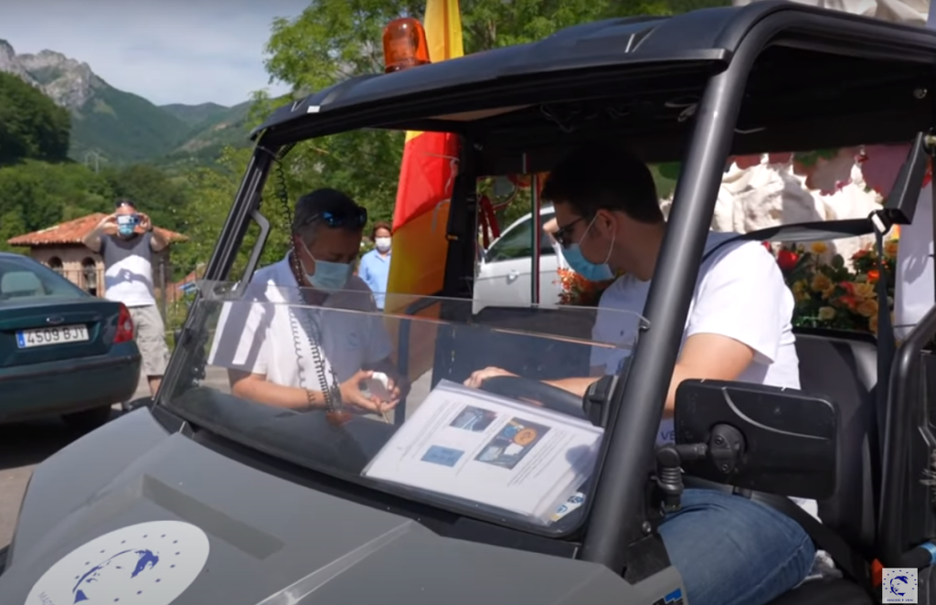 Santi Bustillo, relevo al próximo chofer - Captura de YouTube