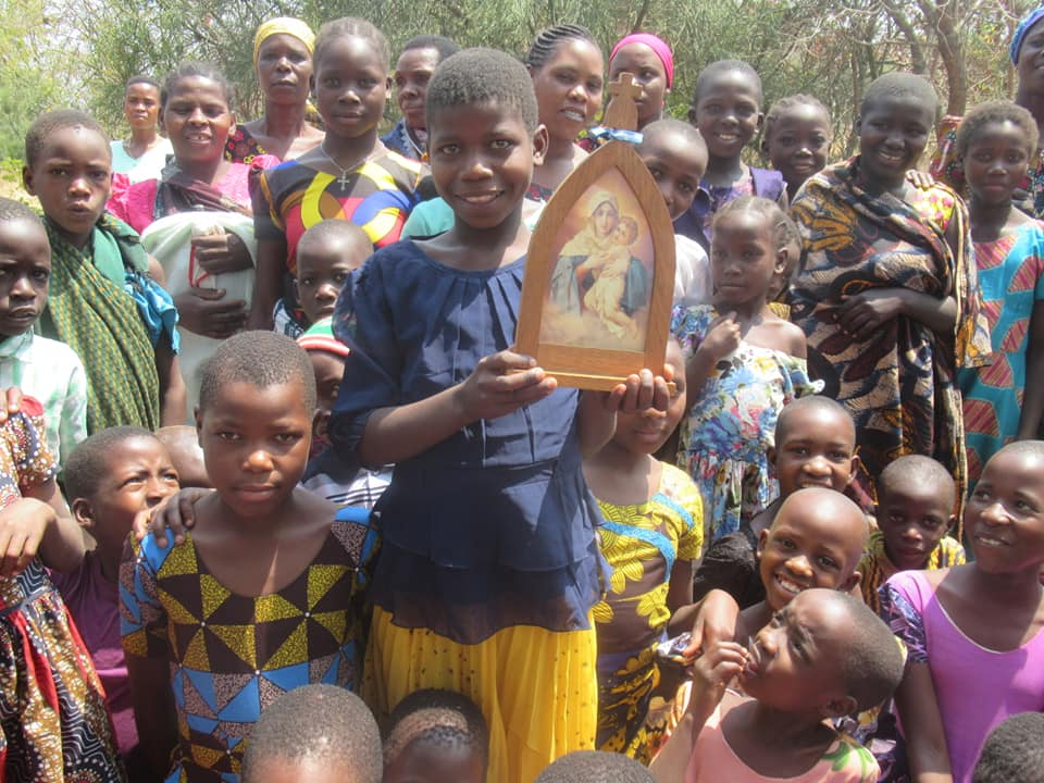 Peregrina en Tansania