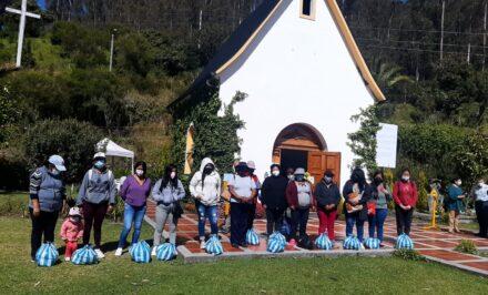 Quito bolsas de caridad