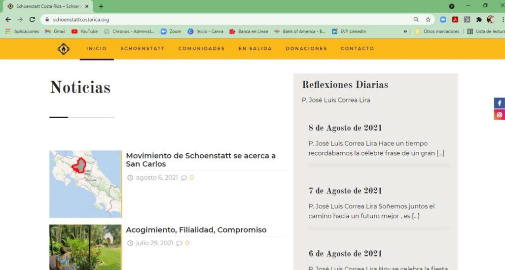 Website Costa Rica